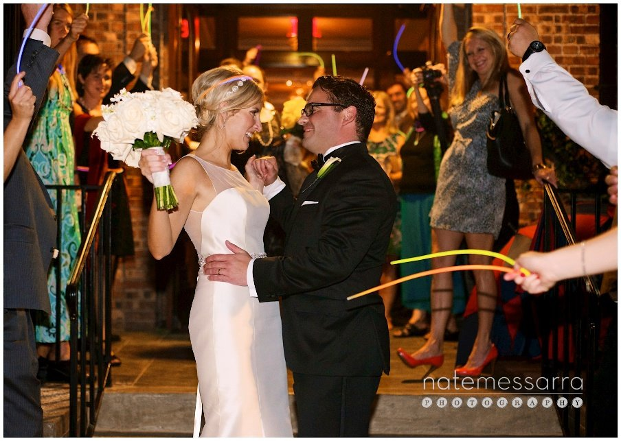 Brennan's of Houston Wedding Reception Exit