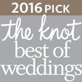 2016 The Knot Best of Weddings Badge