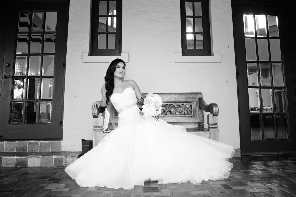 Bridal Portrait Ideas at the Parador