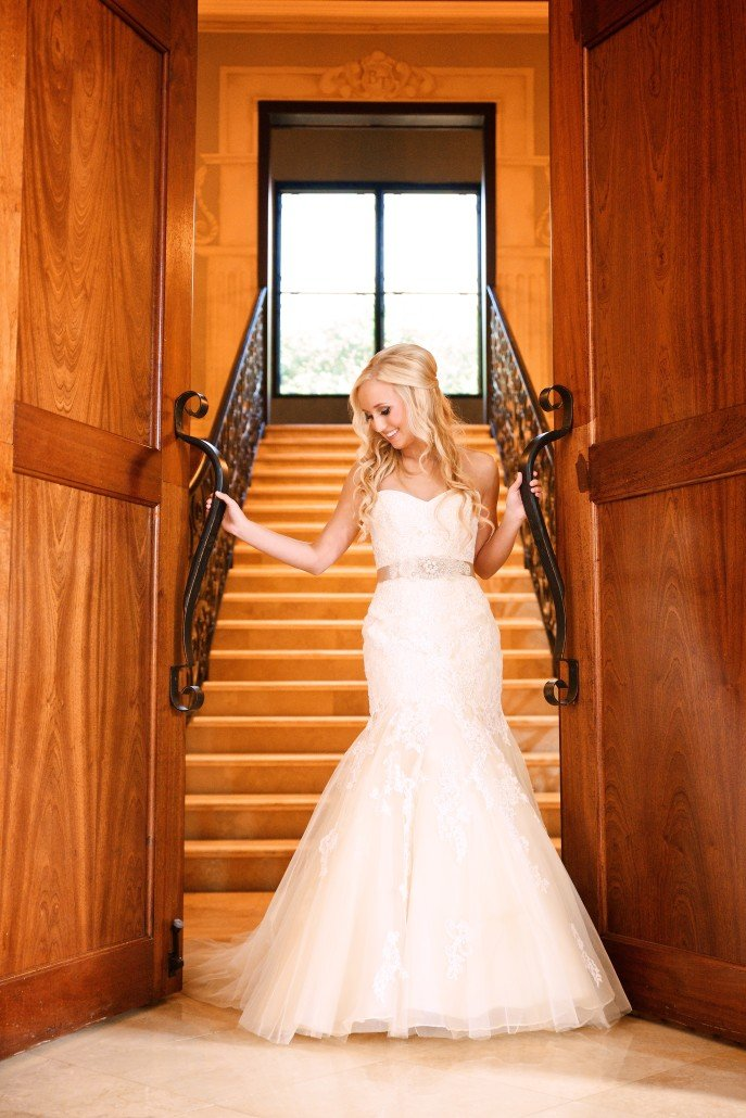The Bell Tower on 34th Bridal Portraits