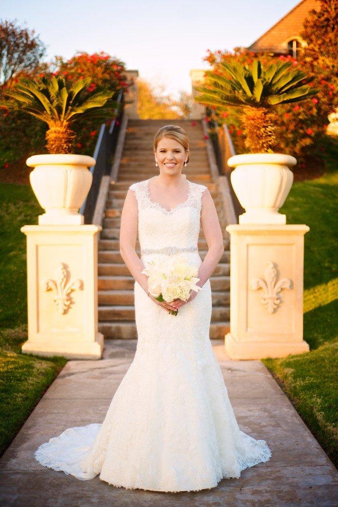 Country Club Bridal Portraits