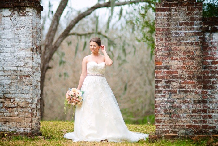 Rustic Country Bridal Portrait Ideas