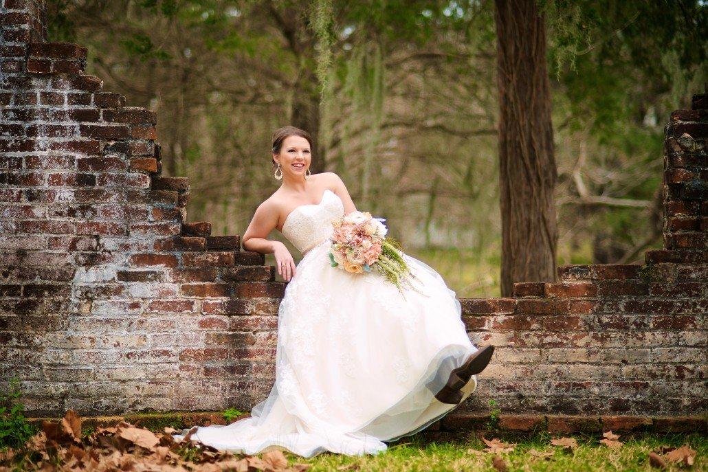 Rustic Plantation Bridal Portraits