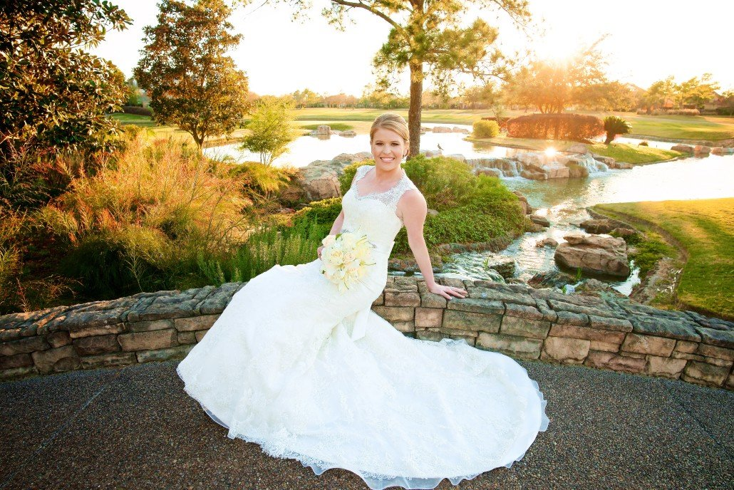 Sunset Bridal Portraits in Houston
