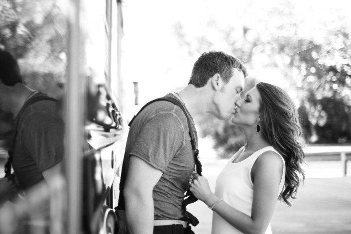 Firefighter Engagement Portraits