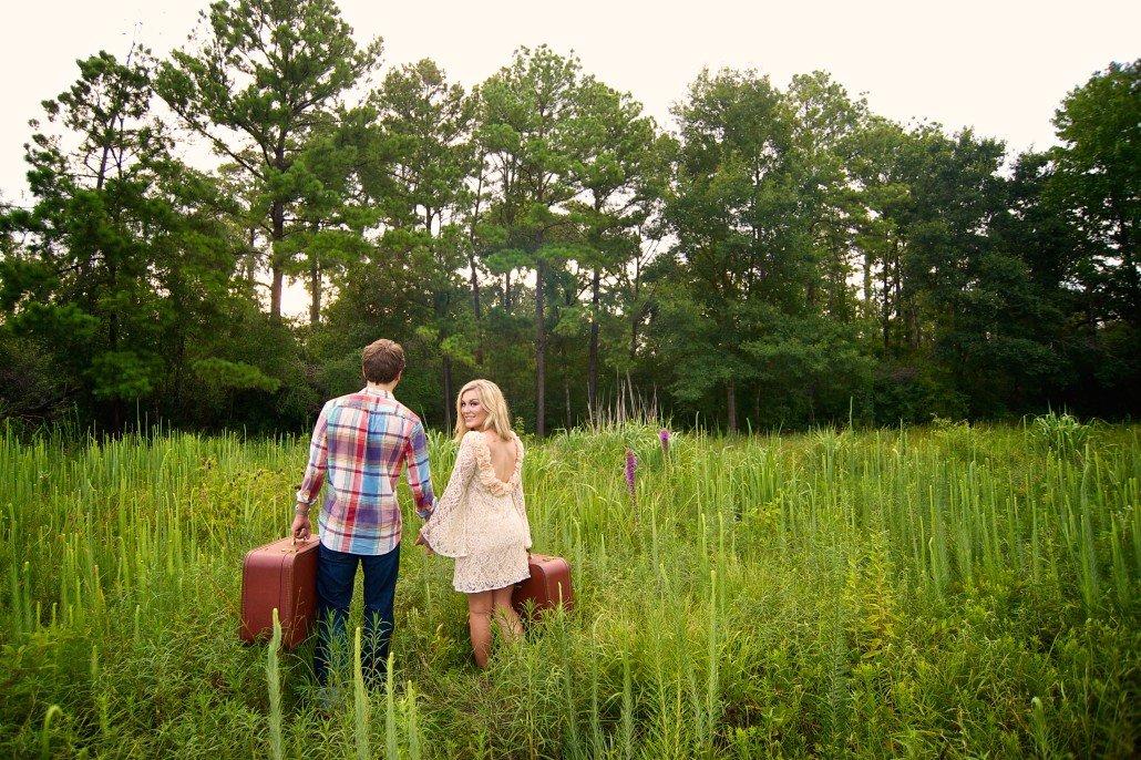 Traveling Engagement Portrait ideas