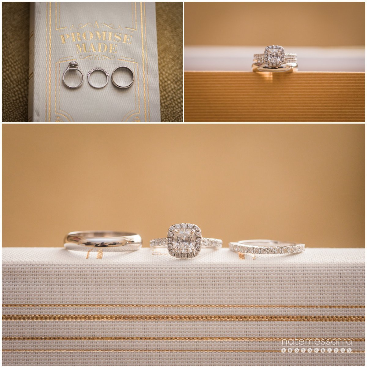 St Regis Houston Wedding Details and Rings
