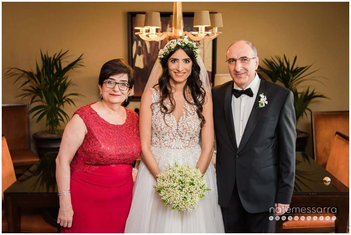 St Regis Houston Wedding Family Portraits