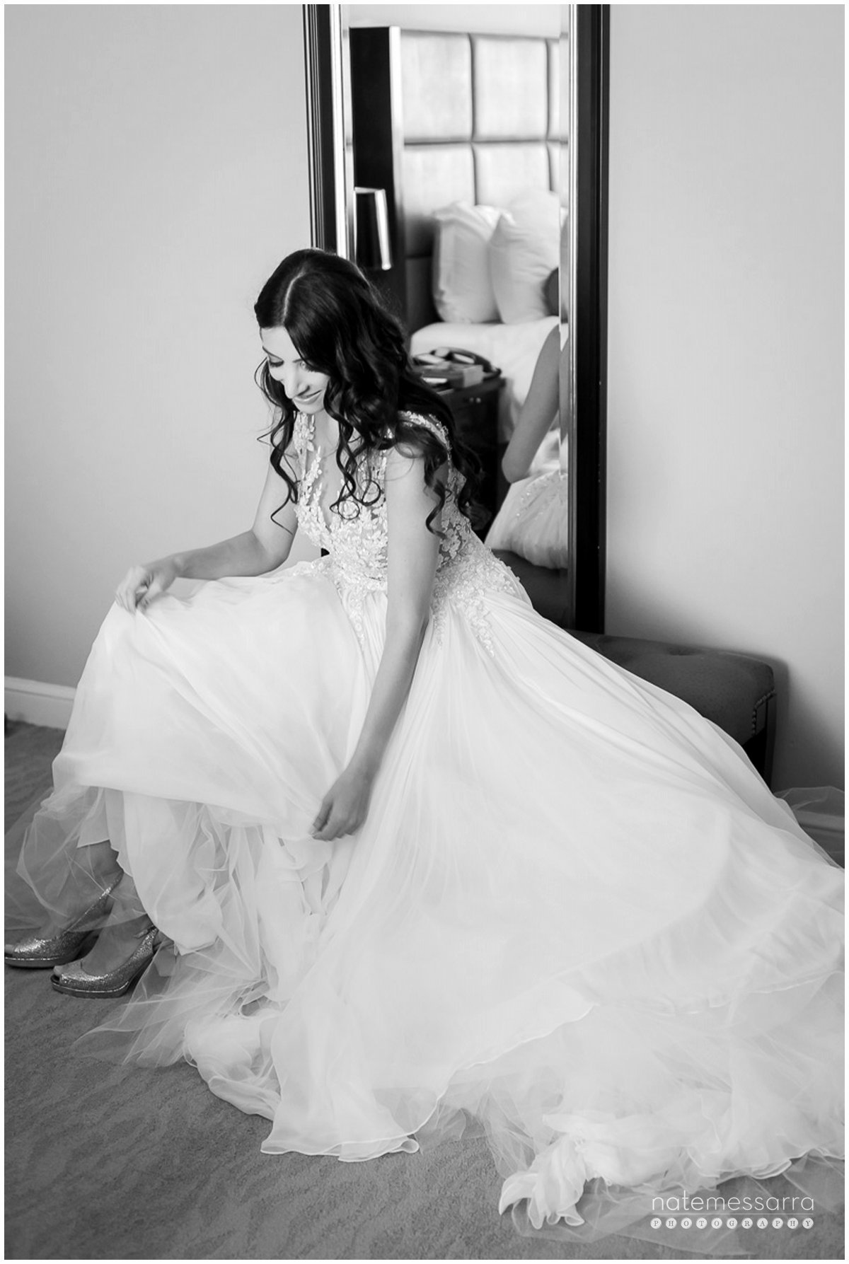 St Regis Houston Wedding - Bride Getting Ready
