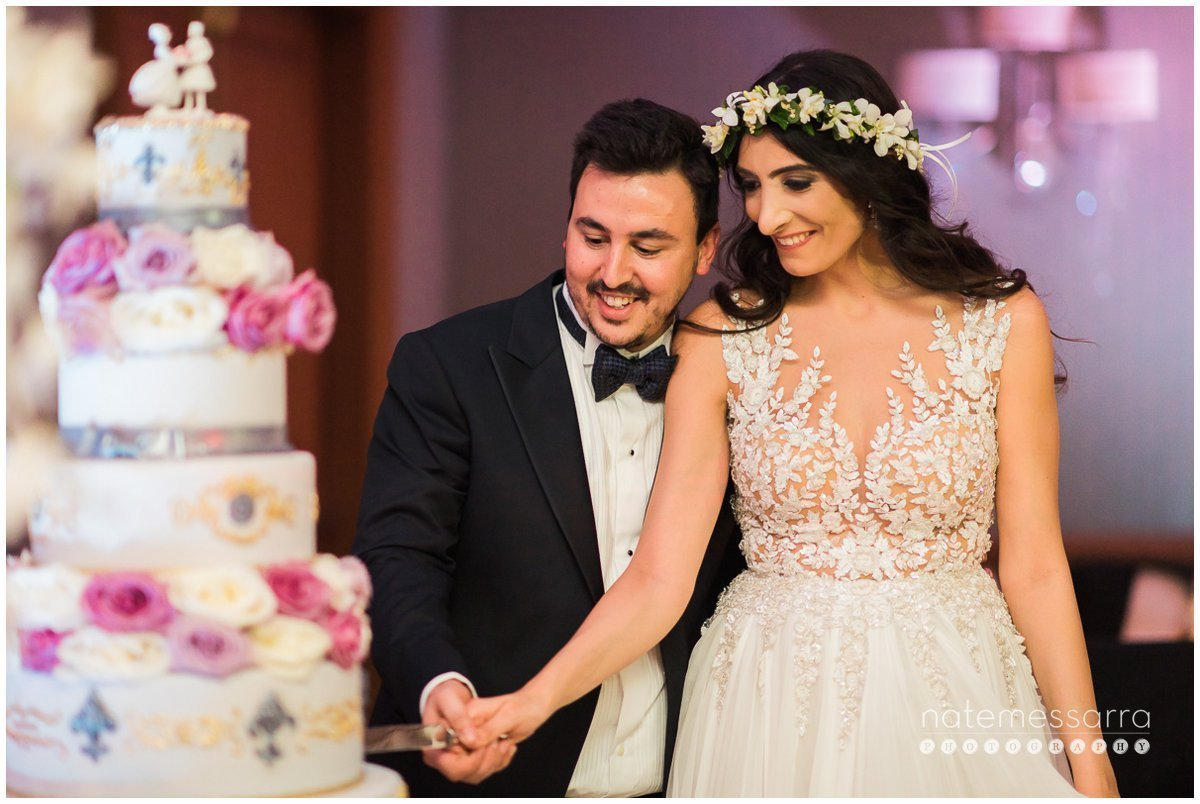 Lebanese St Regis Houston Wedding Reception