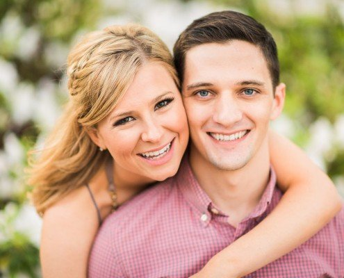 Smiling Houston Engagements